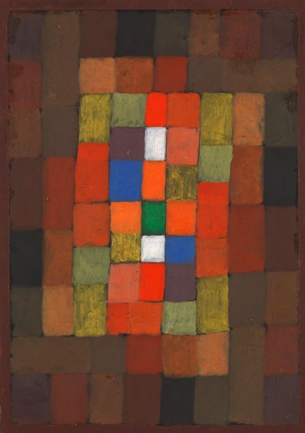 Klee, Paul: Static-Dynamic Gradation. Fine Art Print/Poster (5015)